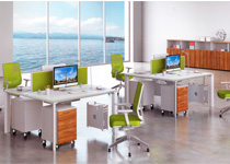 多储物空间组合屏风桌-24