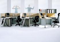 钢制屏风办公桌-32
